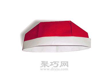 步骤6:好啦,一个可爱的手工折纸小地主帽就制作完成啦!