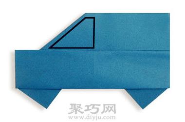 手工折纸小汽车简单教程