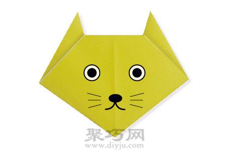 幼儿园折纸小书包图解教程