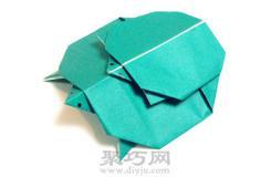 簡單簡單手工折紙大全之烏龜父子教程