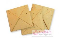 幼儿园儿童饼干简单手工折纸教程