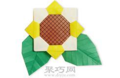 幼兒折紙太陽花簡單手工折紙教程