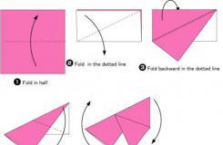 图解手工简单折纸金鱼教程