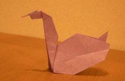 手工折紙天鵝圖解 怎么折立體天鵝