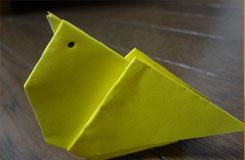 小鸡折纸教程 怎么折刚孵化出来的小鸡