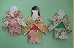 日本和服娃娃折紙圖解教程
