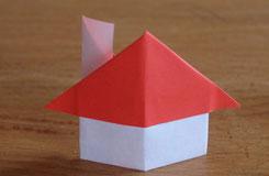 立體折紙房子怎么做 折疊可愛的家