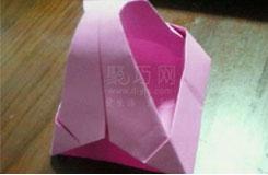 簡單環保紙袋如何制作 變廢為寶折紙袋