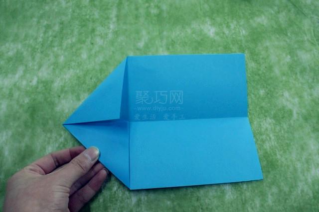 折紙飛機圖解教程step2
