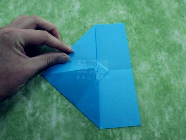 折紙飛機圖解教程step5