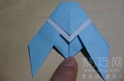 怎樣折蟬 折紙知了圖解 折紙昆蟲大全