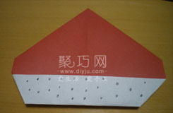 如何用紙折帽子 五步折好紙帽子的方法