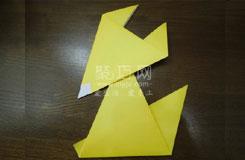 五步如何折叠狐狸最简单狐狸折纸教程