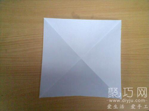 折紙烏篷船圖解教程1