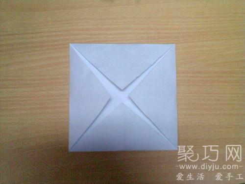 折紙烏篷船圖解教程2
