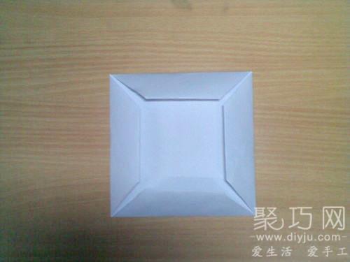 折紙烏篷船圖解教程3