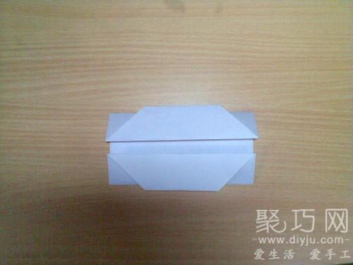 折紙烏篷船圖解教程4