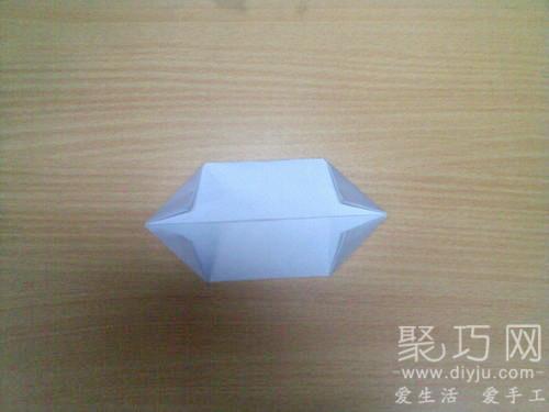 折紙烏篷船圖解教程5