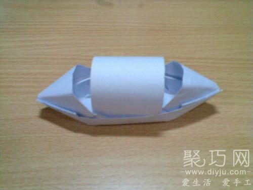 小時候經常玩的折紙船