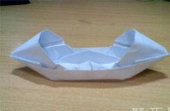 折紙烏篷船圖解教程 讓折紙船重拾小時候童年樂趣