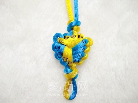 中國結之寶結三寶4套的結構
