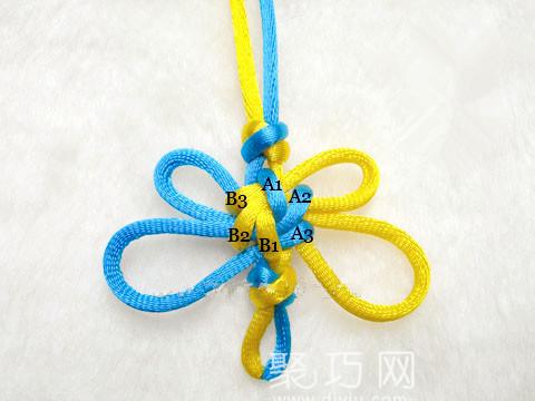 中国结之宝结二宝3套结的结构