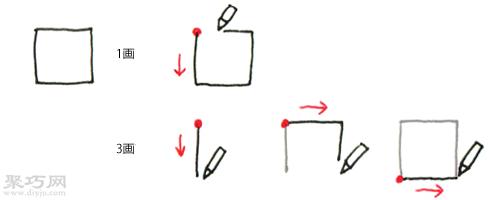 正方形的画法