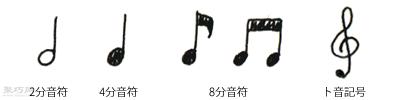 """""""音符""""的种类"""