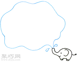大象大象洗澡