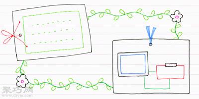 10天學會畫畫 進階篇:裝飾線和對話框畫法
