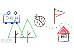 10天學會畫畫 第1天:簡單的線條畫法