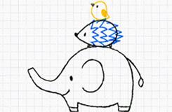 10天學會畫畫 第7天:簡單可愛動物的畫法