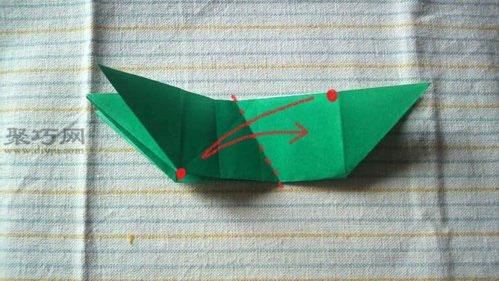 简单手工三角龙折纸 3d折纸恐龙大全图解教程