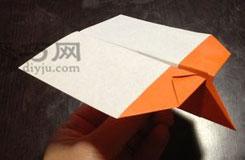 簡單平頭飛機折紙教程 怎么用紙折平頭飛機