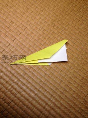 簡單尖頭飛機折紙教程