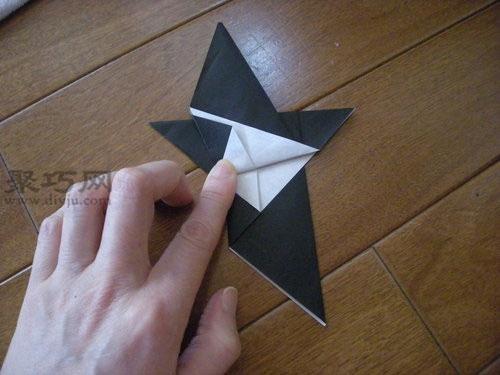 立体纸鸽子的折法图解教程 教你如何折和平鸽
