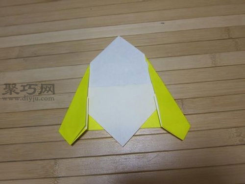 儿童折纸飞碟教程 教你怎么折UFO太空飞碟 手机聚巧网