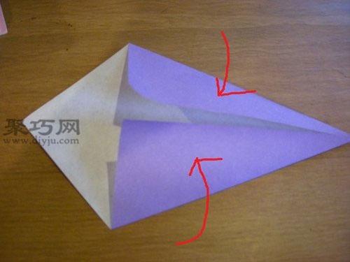 手工折纸天鹅图解 怎么折立体天鹅