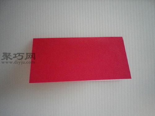 折平面紙西紅柿圖解2