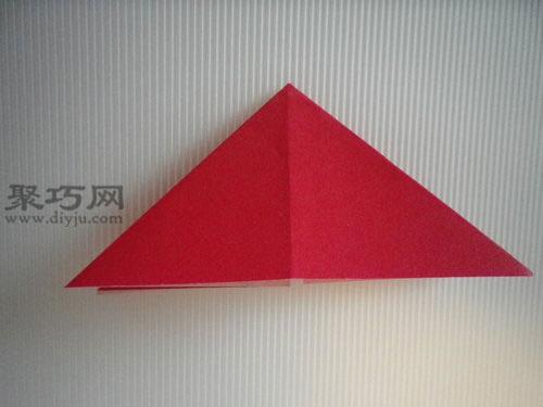 如何折平面纸西红柿图解教程 折纸番茄图片