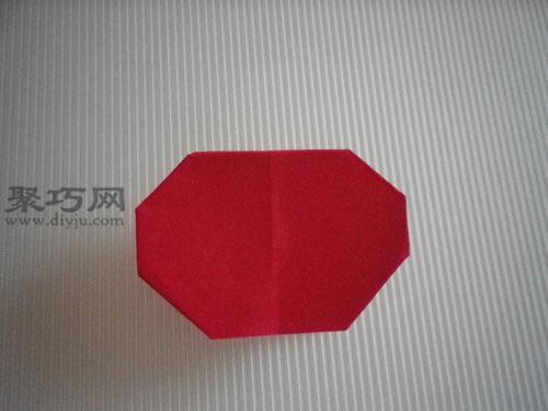 折平面紙西紅柿圖解11