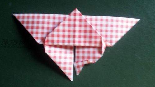 蝴蝶折纸大全图解教程