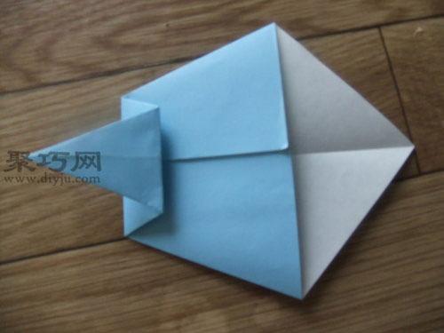 用紙折噴氣飛機的折法