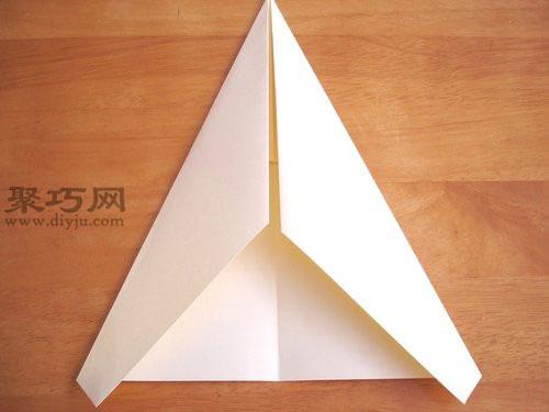 戰斗機折紙方法圖解教程
