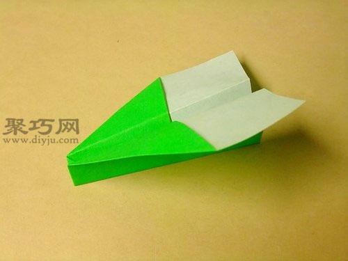 簡單疊飛機的方法圖解教程 非常適合初學折紙飛機
