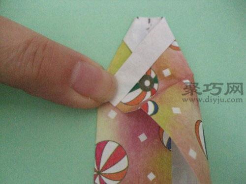 日本和服娃娃折纸图解教程