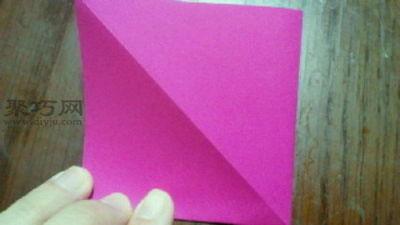 變廢為寶折環保紙袋子步驟4