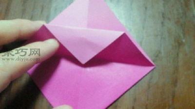 變廢為寶折環保紙袋子步驟5