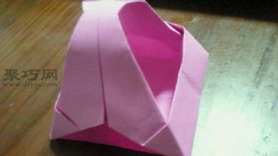 變廢為寶折環保紙袋子步驟1