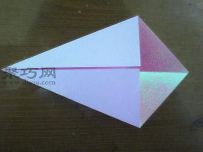 步骤1:准备一张正方形纸